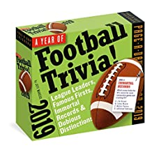 A Year of Football Trivia! Page-A-Day Calendar 2019