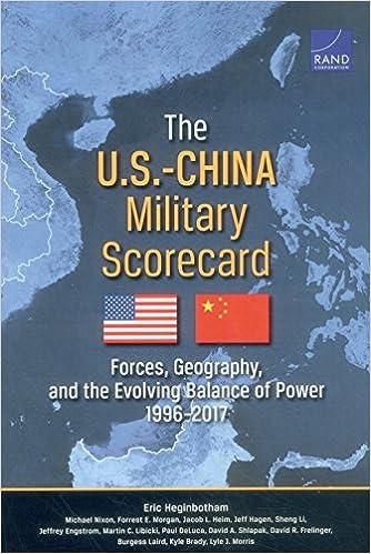 Amazon.com: The U.S.-China Military Scorecard: Forces, Geography, and the Evolving Balance of Power, 1996–2017 (9780833082190): Eric Heginbotham, ...
