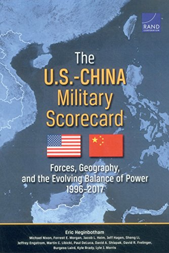 The U.S.-China Military Scorecard: Forces, Geography, and the Evolving Balance of Power, 1996–2017