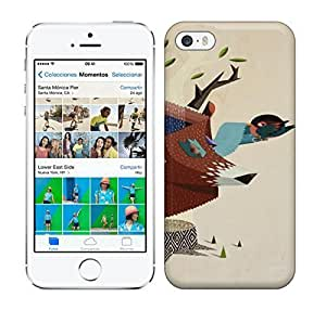 Best Power(Tm) HD Colorful Painted Watercolor The Tree Of Life The Home Of The Birds Hard For SamSung Galaxy S5 Mini Phone Case Cover