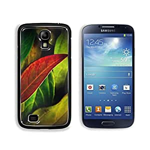 Red Yellow Green Leaves Daluwanjia Samsung Galaxy S4 Cover Premium Aluminum Design TPU Case Open Ports Customized Made to Order