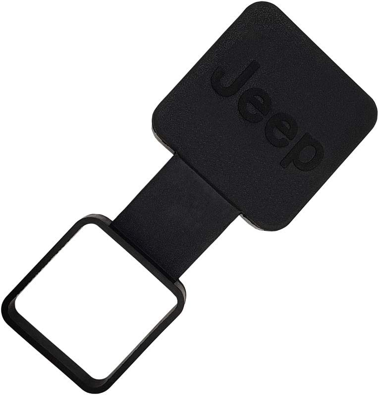 Gekers 2 Trailer Hitch Cover Black Trailer Hitch Cover Tube Plug Insert for Jeep