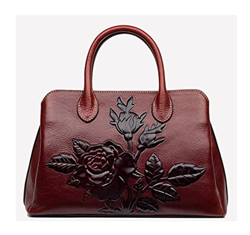 Keshi Leder neuer Stil Damen Handtaschen, Hobo-Bags, Schultertaschen, Beutel, Beuteltaschen, Trend-Bags, Velours, Veloursleder, Wildleder, Tasche Café