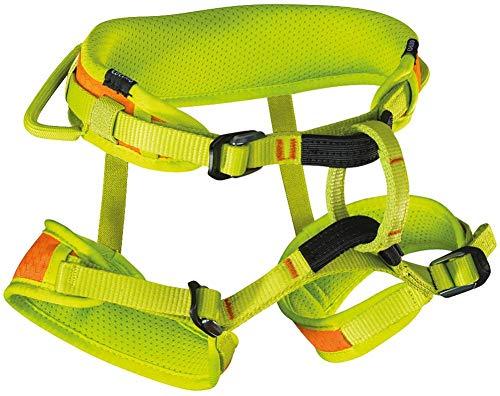 EDELRID Finn II Climbing Harness - Children's Oasis/Sahara X-Small (Rock Climbing Harness Kids)