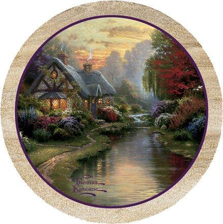A-Quiet-Evening-Thomas-Kinkade-Thirstystone-Coasters