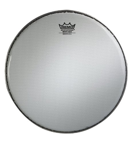 - Remo KS361400 White Max Marching 14-Inch Snare Batter Drum Head with Underlay