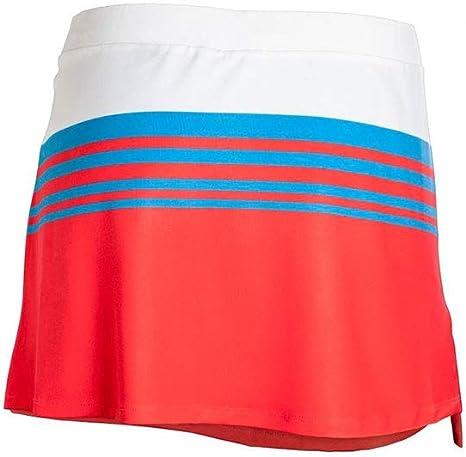 Star vie Falda Passing Rojo Azul MFS1812: Amazon.es: Deportes y ...