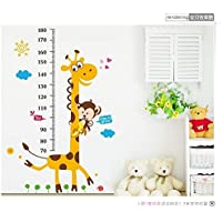 Children room height posted third generation bedroom living room children's room wall stickers