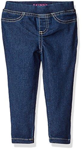 French Toast Big Girls' Pull-On Denim Pant, Medium Wash, 7/8