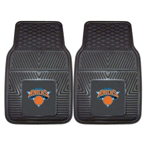 (New York Knicks Heavy Duty 2-Piece Vinyl Car Mats 18
