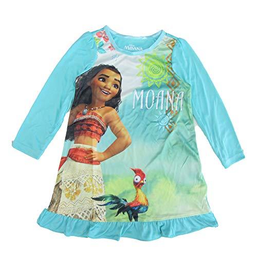 Disney Girls' Little Moana Nightgown, Oceana Queen, 4 by Disney