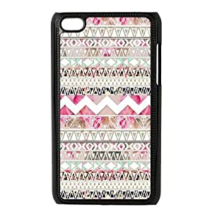 Aztec Tribal Pattern New Fashion DIY Phone Case for Ipod Touch 4,customized cover case ygtg537077