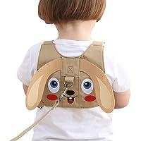 Yuccer Imbracatura di Sicurezza Bambini, Bambino Imbracatura con Guinzaglio Anti-perso con Cinturino di Sicurezza