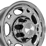 #5: 16x6.5 Wheels Fit Heavy Duty GM Trucks - 8 Lug 2500/3500 Style Polished Rims, Hollander 5079 - SET