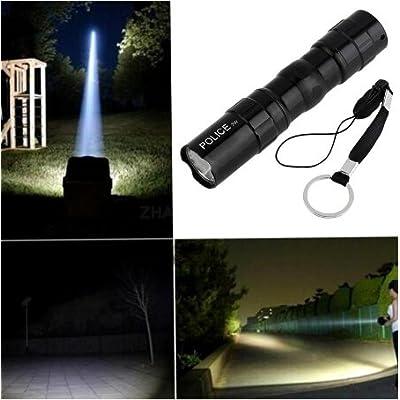 & dés 1Lot Mini LED Keychain Porte-clés lampe de poche, alimentation par batterie lampe de poche, Lampes de poche, lampe de poche, Noir