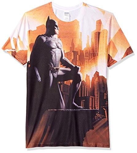 Trevco Men's Batman Begins My City Sublimated T-Shirt at Gotham City Store