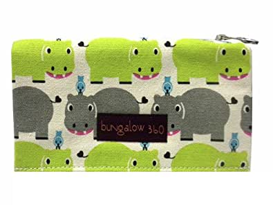 Bungalow360 Vegan Wallet - Hippo - (Secondary)