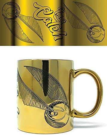 Harry Potter - Taza Foil IM A Catch, 320ml: Amazon.es: Hogar
