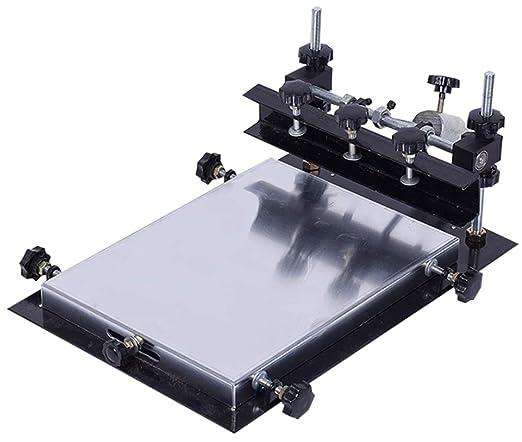 CGOLDENWALL SMT/SMD Mesa de Serigrafía Manual PCB Impresora de ...