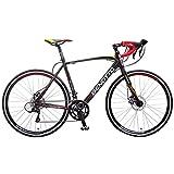 Bicicleta Benotto 1550 Ruta Aluminio R700C 18V Shimano Frenos Carrera Negra