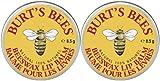 Burts Bees 2pk  Beeswax Lip Balm Burt's Bees Lip Balm Tin, Beeswax, 0.3 oz, 2 pack