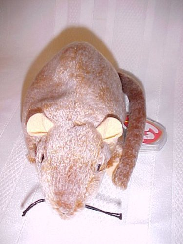 TY~TIPTOE THE RAT BEANIE BABY RARE by Ty