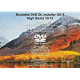 Bootable DVD DL for Mac OS X 10.13 High Sierra Full OS Install Reinstall Recovery Upgrade