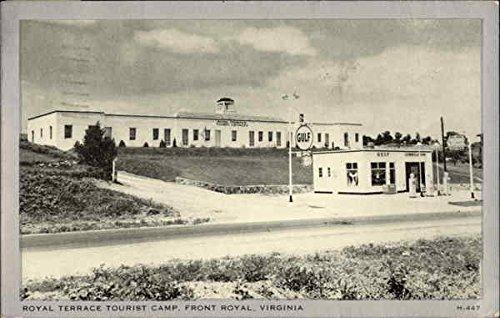 (Royal Terrace Tourist Camp Front Royal, Virginia Original Vintage Postcard)