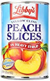 Seneca Foods Libby's Yellow Cling Peach Slices In Heavy Syrup, 15.25 oz