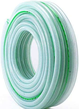 ZLI Clear Flexible Hose, Easy to Use Outdoor Garden Lawn Watering Pipe - Inner Diameter 0.5inch, Lightweight and Portable (Size : 20m(66ft))
