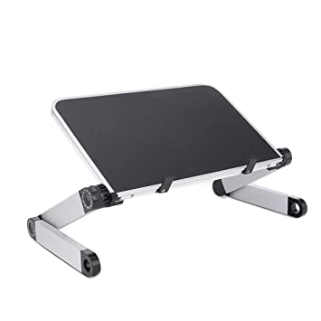 Mesa Ajustable para Ordenador portátil, Plegable ...