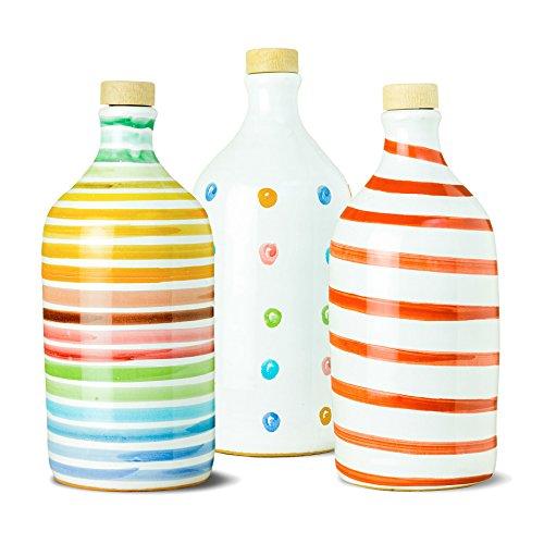 Rainbow Mix 2 - Extra Virgin Olive Oil Frantoio Muraglia (Box 3 Bottles) by Frantoio Muraglia