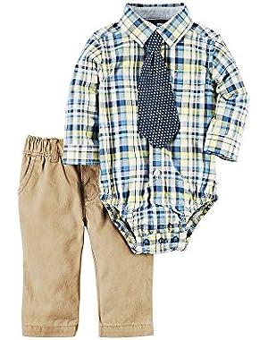 Carter's Baby Boys 2-Piece Shirt And Pant Set