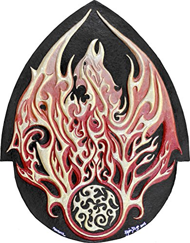 Phoenix - Cast Paper - Fantasy art - Phenix - Greek Mythology - Bennu - Fire - Solar by Celtic & Fantasy Art by Kevin Dyer