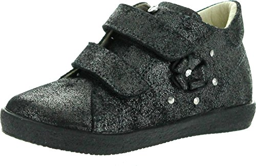 Glitter Falcotto First European Walker 1338 Booties Girls Fashion Antracite 0U1wgx6q