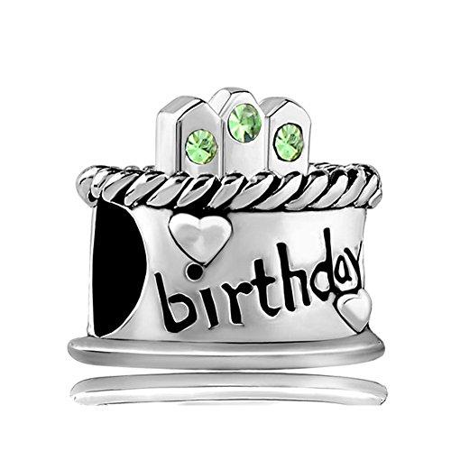 Birthday Birthstone Crystal Jewelry Bracelet