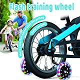 KOECTWYM Children's Bicycle Training Wheels Flash