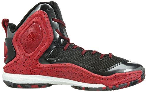 Adidas D Rose 5Boost Chaussures de Basket Noir Rouge