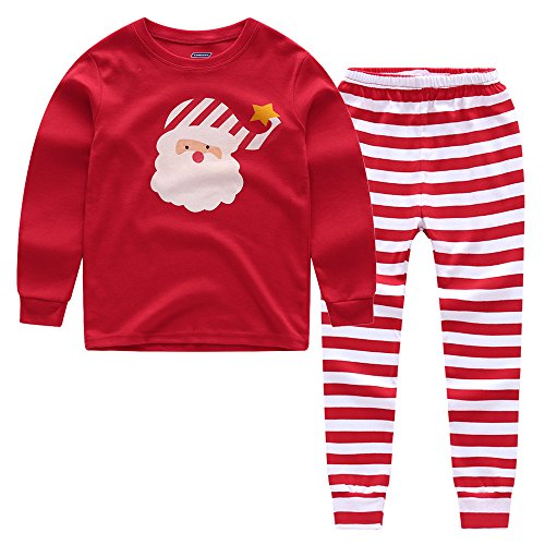 CNBABY Toddler Boys  Christmas 2-Piece Snug Fit Cotton PJs ... bec767faf
