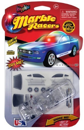 Krazy Kars Award Winning Ford Mustang GT Lihgt Up Marble Racer Car