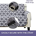 Sofa Covers Slipcovers Prevent Water Non-slip Pet Dog Sofa Protectors with Elastic Straps Snag Resistant & Soil…