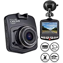ICBEAMER 2.5'' Full HD 1080P Car DVR Safety Interior Vehicle Camera Video Recorder Proof to Police Dash Camera by