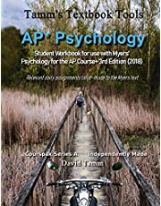 AP* Psychology Student Workbook for use with Myers' Psychology for the AP Course+ 3rd Edition (2018): Relevant daily assignments tailor-made to the Myers text