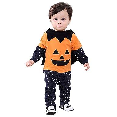 1bd0aa8c3348e Burning Go 4点セット ハロウィン衣装 ベビー かぼちゃ パンプキン コスチューム 子供用 女の子 男の子 ダンス