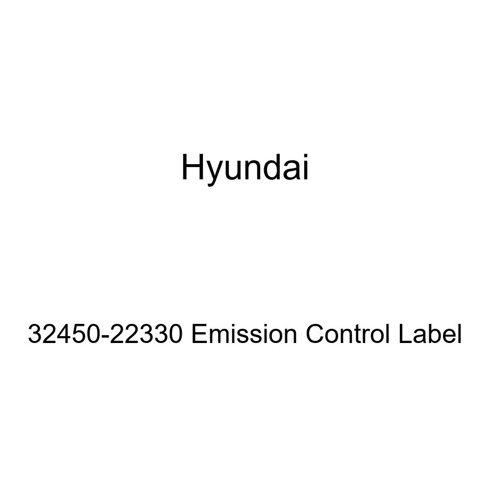 Genuine Hyundai 32450-22330 Emission Control Label