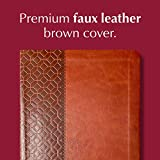 The Passion Translation New Testament, Brown, Large Print (Faux Leather) – In-Depth Bible with Psalms, Proverbs, and Song of Songs, Makes a Great Gift for Confirmation, Holidays, and More