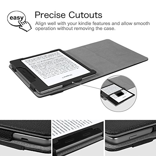 Fintie Folio Case for Kindle Oasis (9th Generation, 2017 Release ONLY) - Premium PU Leather Slim Fit Cover with Auto Sleep/Wake for Amazon All-New 7