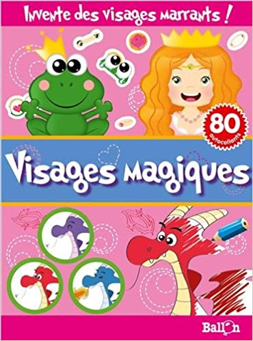 Télécharger en ligne PETITES FRIMOUSSES VISAGES MAGIQUES pdf epub