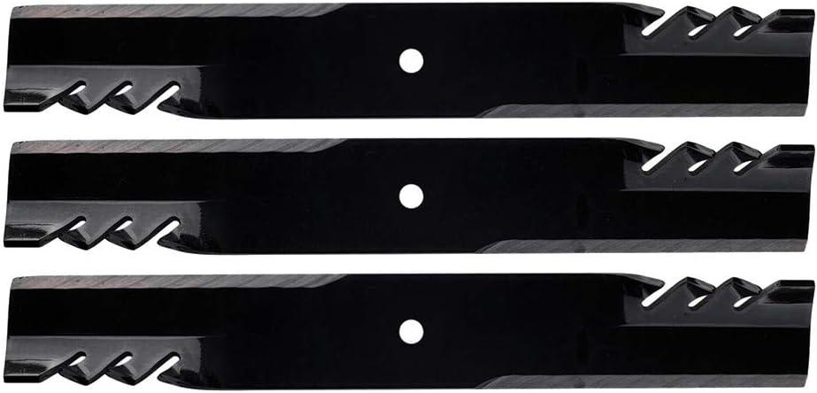 "Three 3 G-6 GATOR BLADES Replaces HUSTLER 52/"" Fast Track Mini Z 783753 785436"