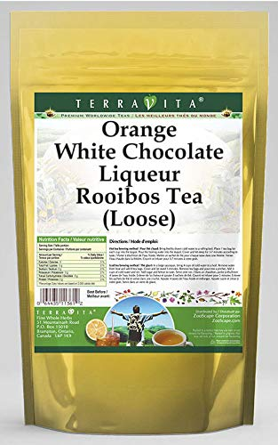 Orange White Chocolate Liqueur Rooibos Tea (Loose) (8 oz, ZIN: 540104)